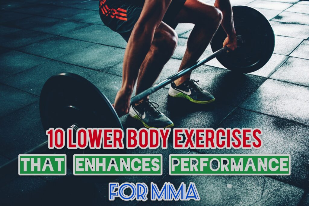 Lower body Exercises For MMA
