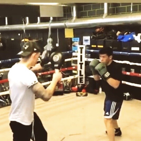 About MMAL- Boxing Pad Work