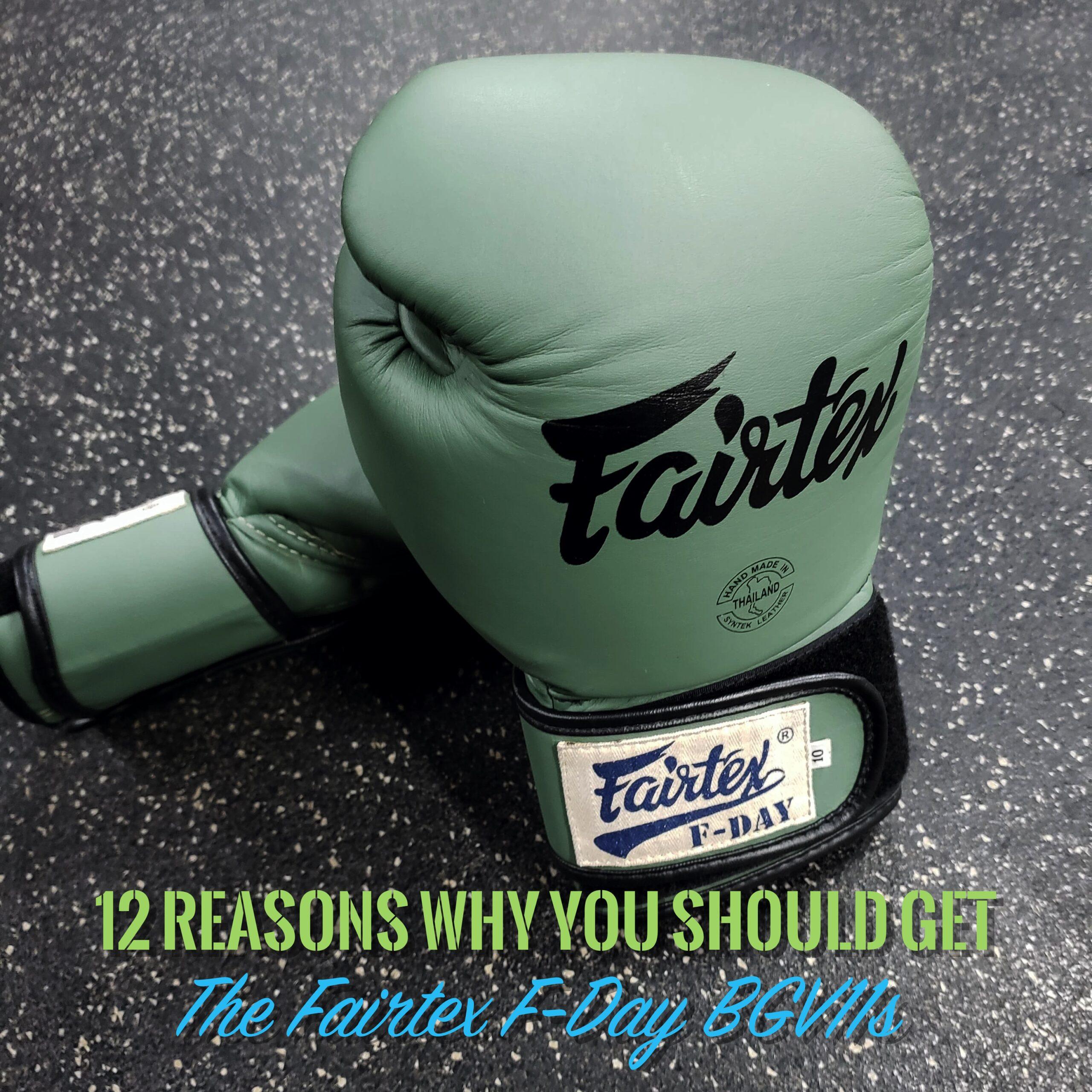 12 Reasons Fairtex F-Day