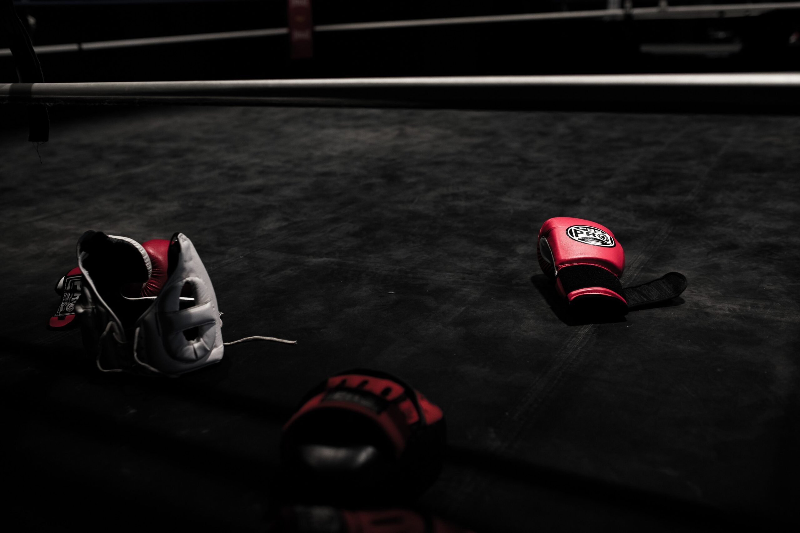 Boxing Equipment in the Ring