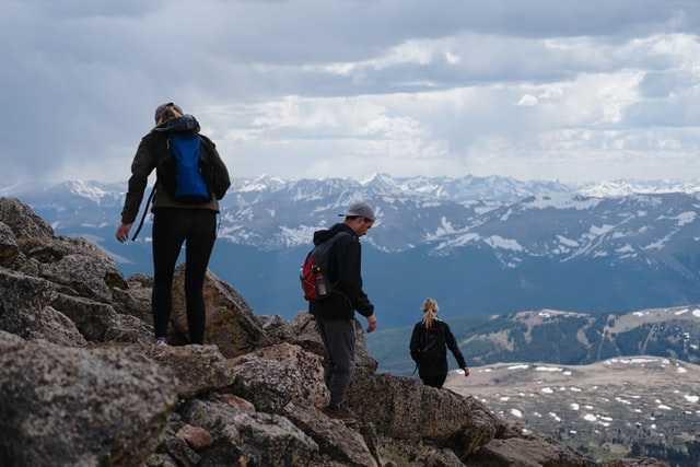 rocky mountain hiking trail