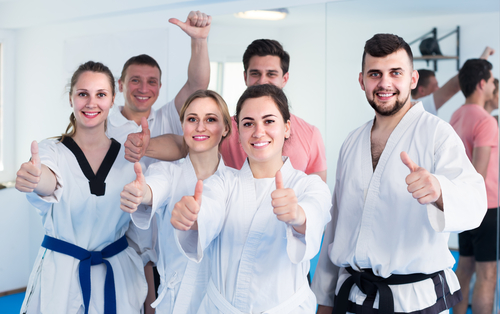 Martial Arts School Team and/or family