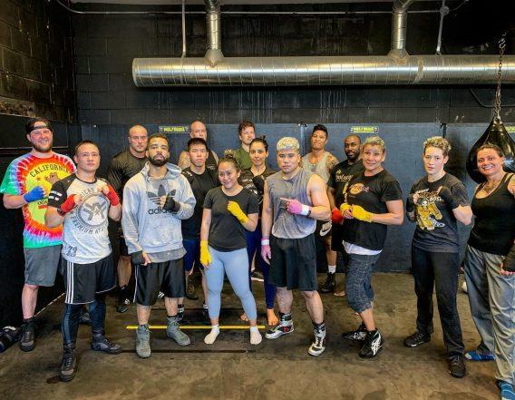 Martial Arts team bond