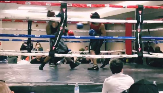 Boxing Competition gives confidence for public speaking